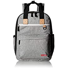 Skip Hop Diaper Bag Backpack with Matching Changing Pad, Duo Signature, Grey...