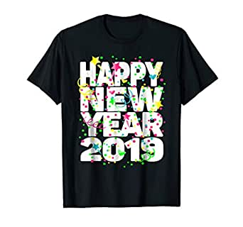 Amazon.com: Happy New Year Shirt New Years Eve Party ...