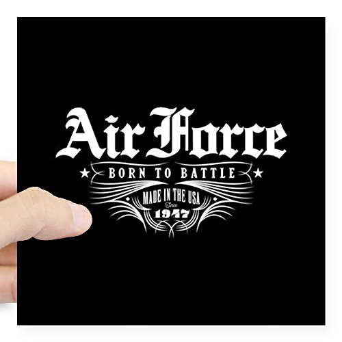 Square Battle Flag (CafePress US Air Force Born to Battle Square Sticker 3