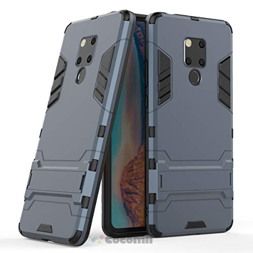 (Cocomii Iron Man Armor Huawei Mate 20 X Case New [Heavy Duty] Premium Tactical Grip Kickstand Shockproof Bumper [Military Defender] Full Body Dual Layer Rugged Cover for Huawei Mate 20 X (I.Black))