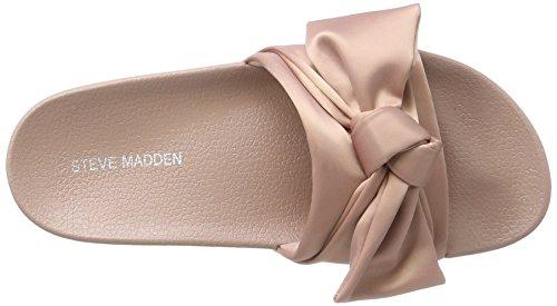 Steve Madden Kvinder Silkeagtig Sandal Hjemmesko Lyserød (pink) ZIuucS0yjO