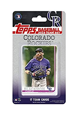 Colorado Rockies 2019 Topps Factory Sealed Special Edition 17 Card Team Set with Nolan Arenado and Trevor Story Plus