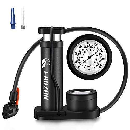 Foot Pump with Pressure Gauge The Sports Ball Inflation Pump