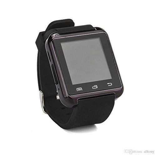 Bluetooth Smartwatch for iPhone 6S/5/5S/Samsung S6/Note 5 (Black) by Watch International