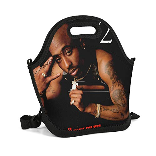 FUSHOPed Portable Lunch Box Insulated Lunch Bag Rock Band Poster Carry Boxes Cooler Tote Bag for School Work Office Picnic Gym