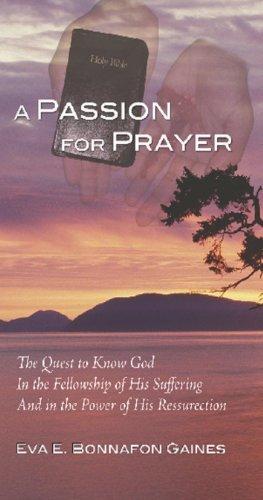 Download A Passion For Prayer pdf epub