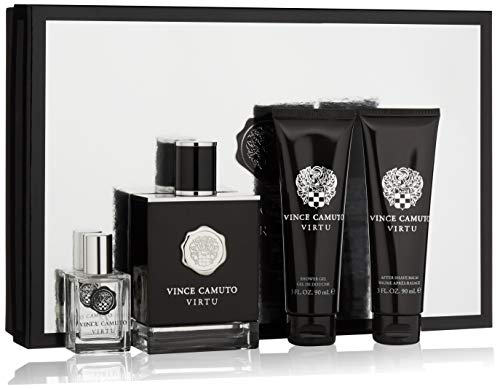 Vince Camuto Virtu Cologne Gift Set for Men, 10 Fl Oz