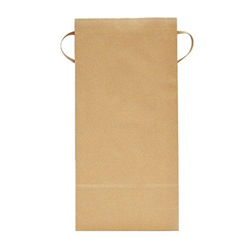 マルタカ クラフトSP 保湿タイプ 無地 窓なし 角底 3kg用紐付 1ケース(300枚入) KHP-831 B077GKQ2W4 3kg用米袋|1ケース(300枚入) 1ケース(300枚入) 3kg用米袋