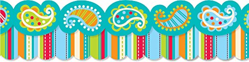 Creative Teaching Press Dots on Turquoise Perfect Pairs Border Set (6585)