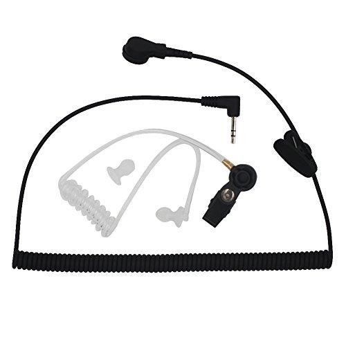 AOER Universal Listen-Only Acoustic Tube Headset Earpiece with 2.5mm jack for Walkie Talkie motorola Radio