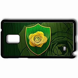 Personalized Samsung Note 4 Cell phone Case/Cover Skin A Song Of Ice And Fire The Game Of Thrones Series Book Coat Of Arms Rose Black