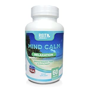 #1 ANTI-ANXIETY CALMING STRESS RELIEF SUPPLEMENT YOU HAVE NOT TRIED YET!!! Physician Approved ingredients by ReitChoices for Advanced Relaxation Brain Focus Anxiety support. Mind Calm Made in USA