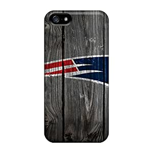 Tpu Case For Iphone 5/5s With New England Patriots