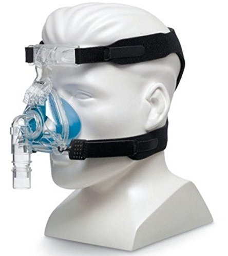 MAXIMUM COMFORT CPAP Universal Replacement Strap for masks – 4-point connection works for most all nasal & full-face sleep apnea masks – Sleep Apnea, Anti-Snoring (Fit Ultra Nasal Cpap Mask)