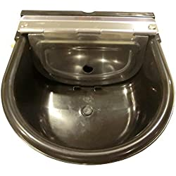 Large Black Automatic Stock Waterer By Rabbitnipples.com