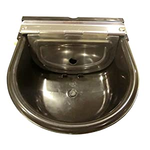 rabbitnipples.com Large Black Automatic Stock Waterer 21