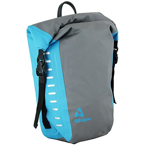Aquapac Waterproof Bike Pannier (Cool Blue)