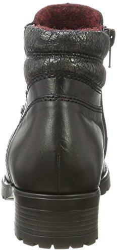 schwarz Noir Femme Remonte schwarz Bottes altgold Chelsea D8275 W7TSfqX