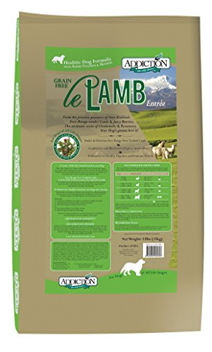 Addiction Le Lamb Grain Free Dry Dog Food, 33 lb. by Addiction Pet Foods