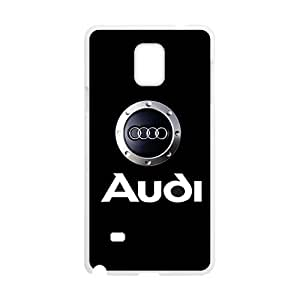 SANLSI Audi sign fashion cell phone case for Samsung Galaxy Note4