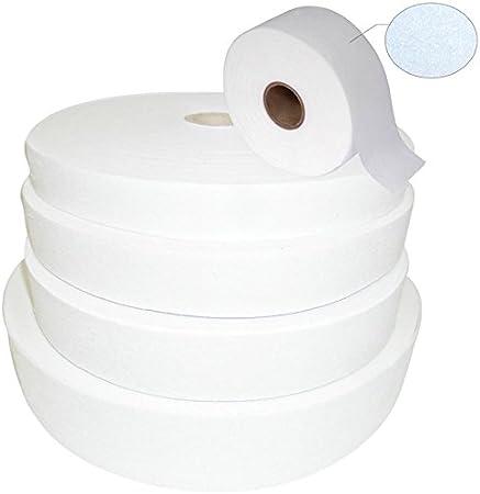 White Thick Interlining Buckram Size 1 inch 100 mtr roll