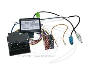 ACV CAN-Bus Kit VW Gruppe Quadlock > ISO / Antenne > DIN