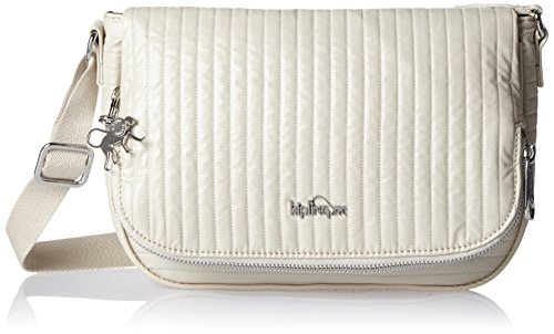 White S White Kipling Shoulder Bag Earthbeat Misty Women��s ZOFwqgnX