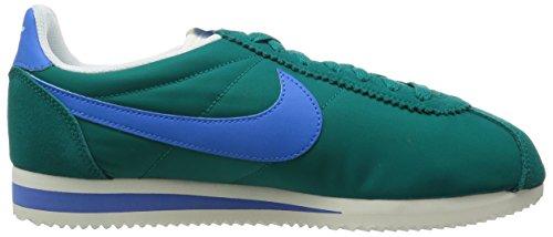Nike Grün Nylon Herren Weiß Cortez Classic Turnschuhe aqarz