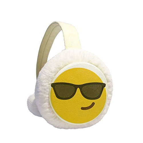 Sunglass Cool Yellow Cute Online Chat Winter Earmuffs Ear Warmers Faux Fur Foldable Plush Outdoor - Image Online Sunglasses