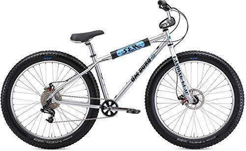 SE Om-Duro 27.5+ BMX Bike Silver Sparkle Mens Sz 27.5in