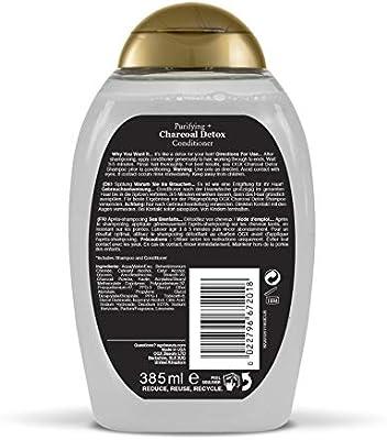 OGX Purificador + desintoxicante de carbón vegetal: Amazon.es: Belleza