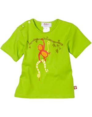 Monkey Swing Short Sleeve Screen T Shirt