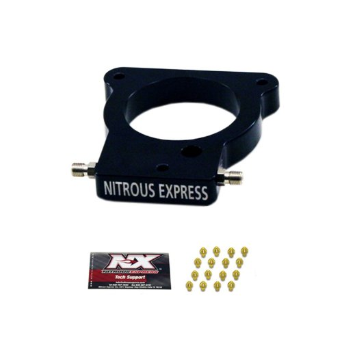 (Nitrous Express NX935 EFI Plate Conversion GM LS 78MM 3 Bolt EFI Plate Conversion)
