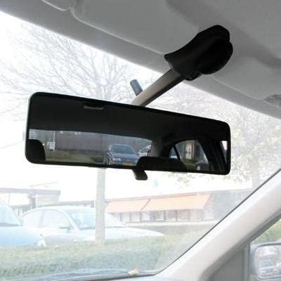 Milopon Panoramic Rear View Mirror Car Interior Rear View Mirror Universal interior mirror car Anti Blend Angle Setting Rear View Mirror