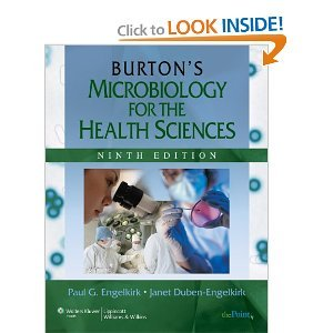 Burton's Microbiology for the Health Sciences 9th (nineth) edition