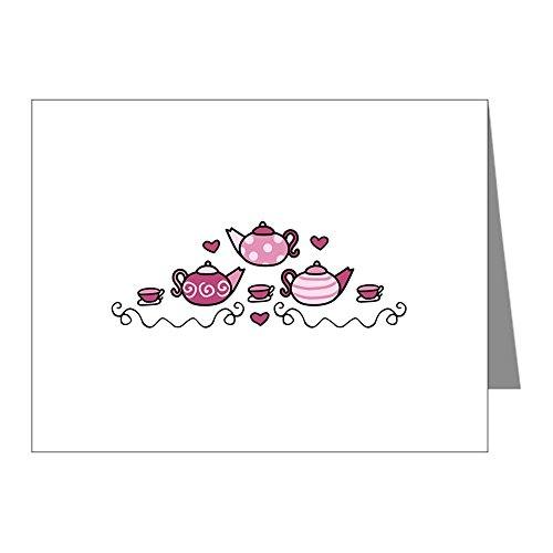 Teapot Glossy - CafePress - Tea Pots Note Cards - Blank Note Cards (Pack of 20) Glossy