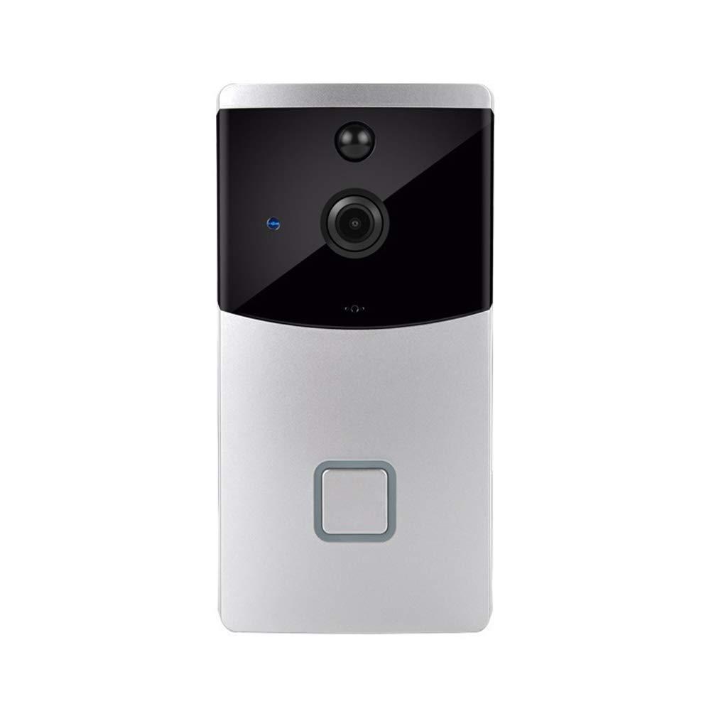 YI FLY Video Türklingel,720P HD WiFi Überwachungskamera, Nachtsicht, PIR-Bewegungserkennung Und Anwendungssteuerung, Echtzeit-Zwei-Wege-Anrufe Und Video Intelligente Türklingel Für IOS Und Android