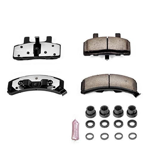 Power Stop Z36-369, Z36 Truck & Tow Carbon-Fiber Ceramic Front Brake Pads