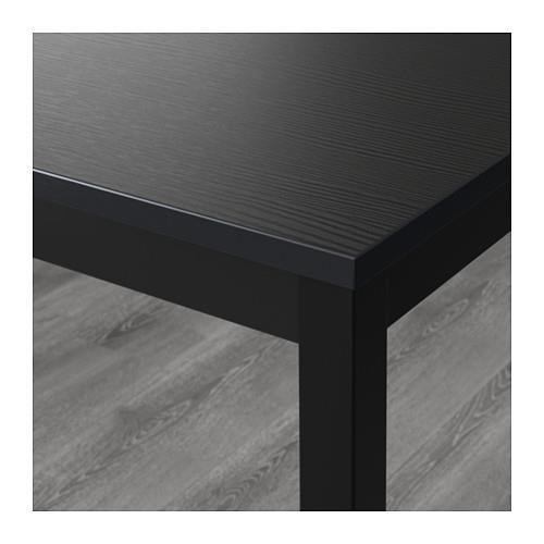 Ikea Table, black