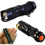 MINI TORCHE LED 3W bailong HL68 lumière LED POLICE RECHARGEABLE