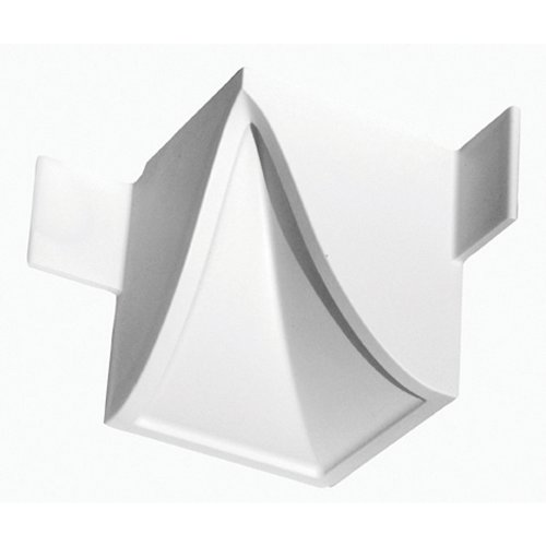 Focal Point 21615 4 1/8-Inch Quick Clips System A Inside Corner Block 3-Inch by 3-Inchx 3 1/2-Inch, White