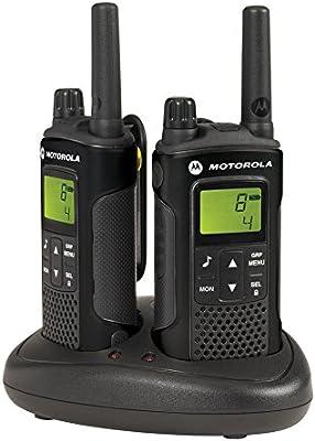 Motorola XT180 Two-Way radios 8 Canales 446 MHz Negro: Amazon.es: Electrónica