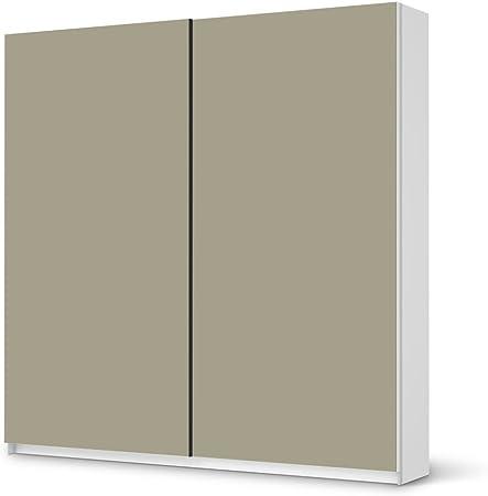 Vinilo adhesivo para IKEA PAX armario de 201 cm Altura - puerta corredera | Los muebles de