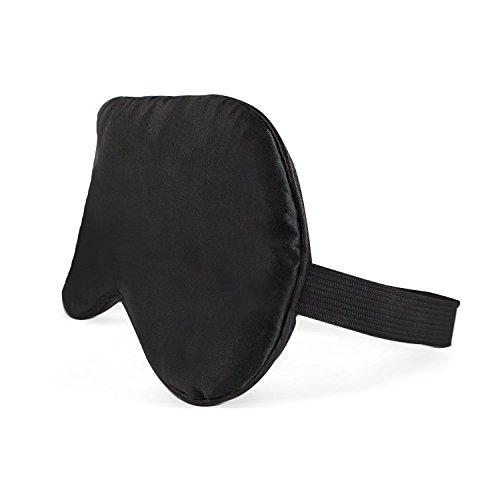 NYKKOLA Sleep Restoration Natural Silk Sleep Mask & Blindfold - Single Strap Super-Soft Silk Eye Mask by NYKKOLA (Image #1)