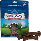 Blue Buffalo Regular Blue Bones Natural Dog Dental Chews, Pack of 8 chews, My Pet Supplies