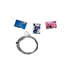 Cable de acero para fotos (magnético, 190 cm)