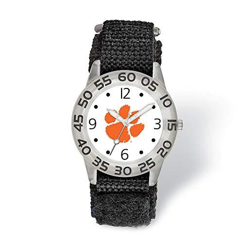 ZenJewels Clemson University NCAA South Carolina Watch Children's Watches & Batteries 16 mm 7 in Clemson University Childs Fan Watch from ZenJewels