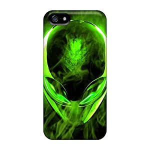 Case Cover Flame Alien/ Fashionable Case For Iphone 5/5s
