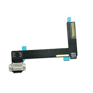 Charging Port Connector Dock Flex Cable Replacment for Ipad Air 2 (Black)
