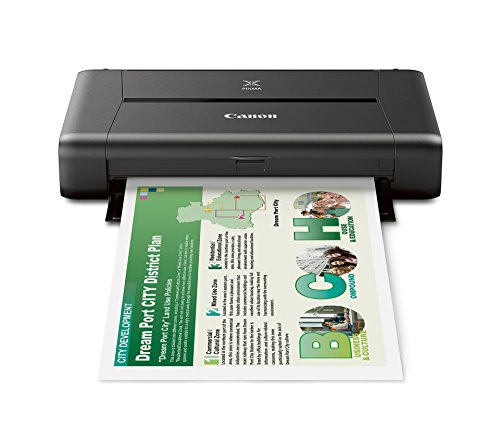 CANON PIXMA iP110 Wireless Mobile Printer With Airprint And